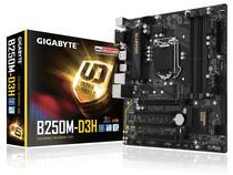 Placa Mãe Gigabyte LGA1151 B250M-D3H DDR4