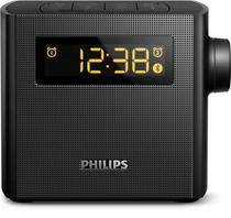 Radio Relogio Ogio Philips AJT-4400B - FM - Bivolt - Preto