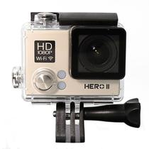 Camera Goalpro Hero 2 Wifi Full HD Resistente A Agua Dourado