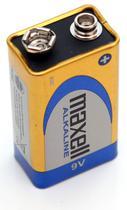 Pilha Maxell Alkaline 9V