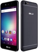 """Smartphone Blu Grand Max Dual Sim 3G Tela 5.0"""" Cpu 4Core Cam. 8MP+8MP Preto"""