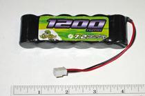 Venom 6-Cell 7.2V 1200MAH Nimh Flat Micro Battery Pack 1512