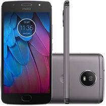 Smartphone Motorola Moto G5S XT1790 32GB 1 Sim Tela 5.2 16MP/5MP Os 7.1.1 - Cinza