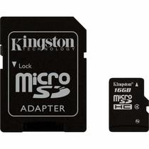 Cartao de Memoria Kingston 16GB Micro SDHC Classe 4