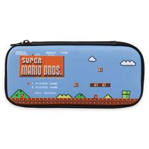 Estojo para Nintendo Switch Powera Slim Case 1506918 - Preto Super Mario Bros