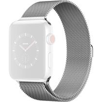 Pulseira 4LIFE Apple Milanese Loop Prateado 44MM