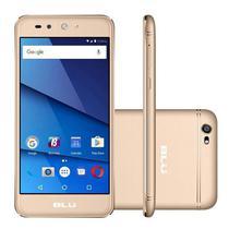 Smartphone Blu Grand X G0010WW Dual Sim 8GB Tela 5.0 Cam 8MP/5MP Os 7.0 - Dourado