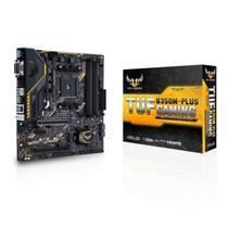 Placa Mãe Asus AM4 B350M-Plus Tuf Gaming DVI/HDMI/VGA