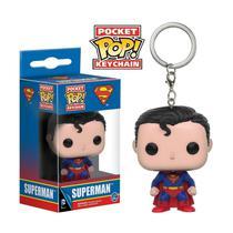 Boneco Pop Keychain DC Superman