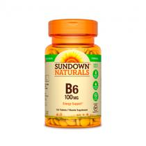 Vitamin B 6 High Potency 100MG - 150 Capsulas Sundown