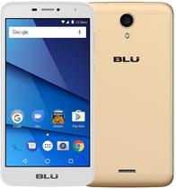 """Smartphone Blu Studio Mega S610P Dual Sim 3G 6.0"""" 1GB/8G Cam 8MP/5MP Dourado"""
