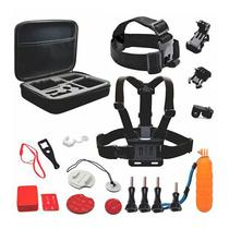 Kit de Acessorios para Camera de Acao Quanta QTSCA603