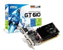 Placa de Vídeo 2GB GF GT610 MSI 810M 64BIT DDR3