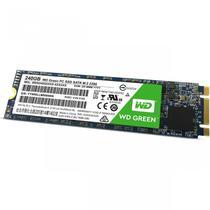 Cartão de Memória SSD Western Digital WDS240G2G0B 240GB M.2 545-525MB/s Verde