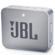 Caixa de Som de Som JBL Go 2 - Bluetooth - Bateria de 730 Mah - Cinza