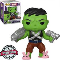 Funko Pop Marvel Exclusive - Professor Hulk 705 (Super Sized 6EQUOT;)