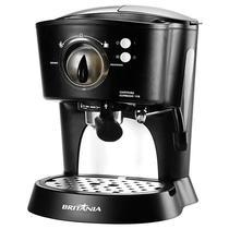 Cafeteira Britania Expresso 15B 1.000 Watts com Vaporizador 127V~60HZ - Preta