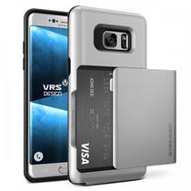 Capa para Galaxy Note 7 VRS Design Damda Glide Light Silver