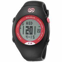 Relogio Monitor Cardiaco GPS Soleus SG009-011 GPS Mini HRM Pre/Rosa