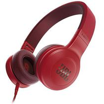 Fone de Ouvido Sem Fio JBL E35 com Microfone  Vermelho