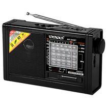Radio Portatil AM/FM/SW 1-6 Satellite AR-303BT 2 Watts RMS com Bluetooth/Lanterna - Preto