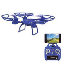 Drone Polaroid PL1200 com Controle/Camera, 300MAH, 2.4GHZ, Wi-Fi, SD 480P - Roxo
