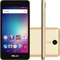 """Smartphone Blu Studio S010Q 3G Dual Sim Tela 5.0"""" 8GB Cam. 5MP+5MP Dourado"""