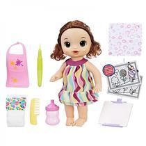 Baby Alive Pequena Artista - Morena Hasbro
