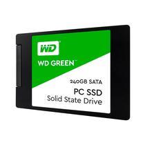 """Cartão de Memória Western Digital SSD 2.5"""" Green 545 MB/s 240GB WDS240G2G0A Verde"""