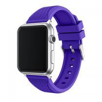 Pulseira 4LIFE de Silicone Pineapple Pattern para Apple Watch - 38MM - Roxo