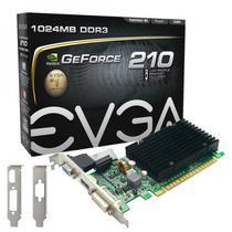 Placa de Vídeo GF210 EVGA 1GB DDR3/ 64B/ 520MHZ/ VGA/ H