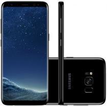 "Smartphone Samsung Galaxy S8 SM-G950F 64GB Lte 1SIM Tela 5.8"" Cam.12MP+8MP-Preto"