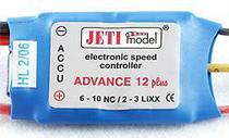 Jeti Advance Plus 12 Amp Brushless Speed Controller