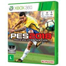 Jogo Pes 2018 Pro Evolution Soccer Xbox 360