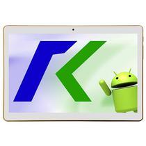 """Tablet Keen A96 10"""" DS 16GB Dourado com Capa"""
