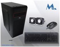 Gabinete Kit Gabinete Mtek D099B + Mouse + Speaker + Teclado - Espanhol - Fonte 500W - Preto