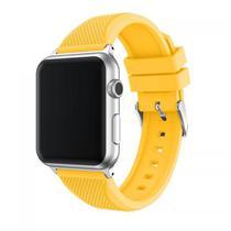 Pulseira 4LIFE de Silicone Pineapple Pattern para Apple Watch - 38MM - Amarelo