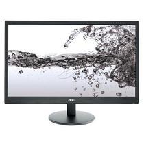 """Monitor LED de 21.5"""" AOC E2270SWN Full HD Ultra Slim com VGA - Preto"""