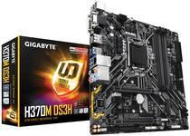 Placa Mãe Gigabyte LGA1151 H370M DS3H M.2/DVI/HDMI/VGA