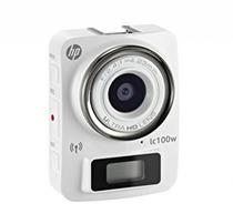Camera HP LC100W 8MP/Fullhd/Waterproof Branca