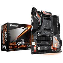 Placa Mãe Gigabyte AM4 X470 Aorus Ultra Gaming M.2/HDMI
