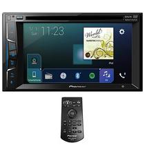 """Reprodutor DVD Automotivo Pioneer AVH-Z2050BT 6.2"""" com Bluetooth/USB - Preto"""