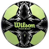 Bola de Futebol Wilson Pitch Black WTE8802XB05 - Preta/Cinza
