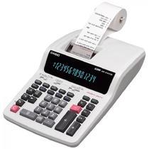 Calculadora c/ Bobina Casio DR-240TM 14 Dig - 44 Linhas/Seg Eletrico 110V Branco