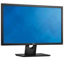 """Monitor LED de 23.8"""" Dell E2417H Full HD com VGA/Displayport Bivolt - Preto"""