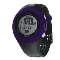 Relogio Soleus SG100-047 GPS Fit-Black/Purple $
