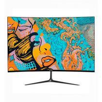 """Monitor LED 27"""" Kolke KES-500 Curve/Full HD/HDMI/DP Preto"""