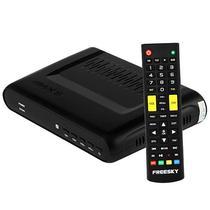 Receptor Fta Freesky Max s Ultra HD 4K Iptv/Wi-Fi/USB Bivolt - Preto