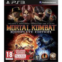 Jogo Mortal Kombat Komplete Edition PS3