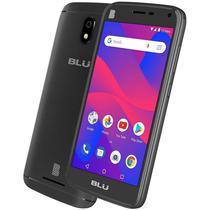 """Smartphone Blu C5L Dual Sim Lte 5.0"""" Cam. 5MP/2MP Preto - Garantia 1 Ano No Brasil"""